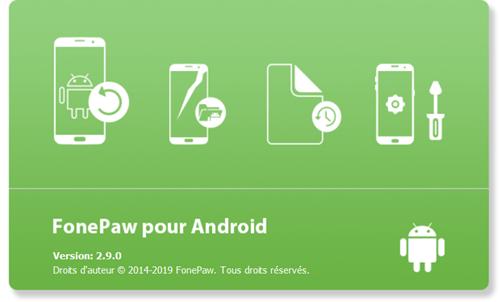 Lancez le programme FonePaw pour Android