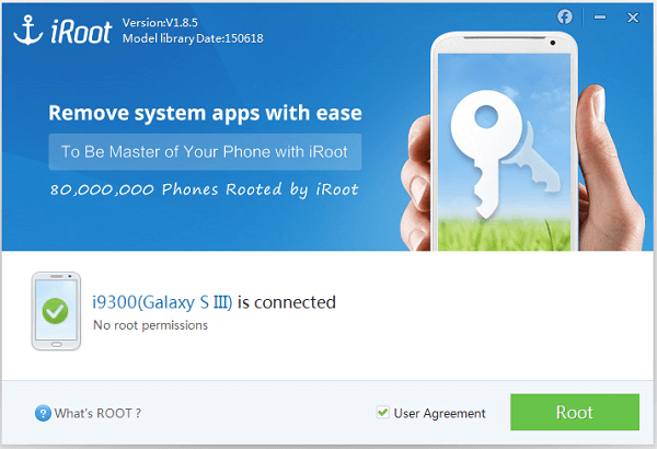 iroot rooter android