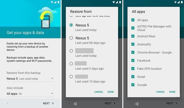 récupérer les messages Android sans PC