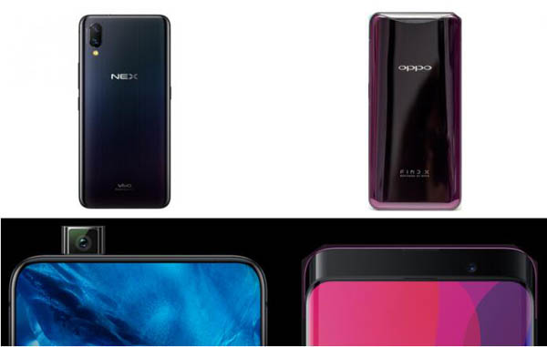 Oppo Find X vs Vivo Nex