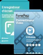 Enregistreur d'écran + Convertisseur Vidéo