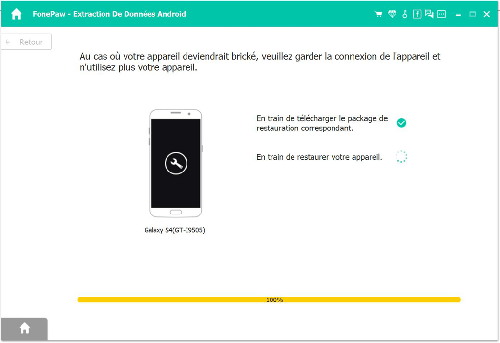 FonePaw - Extraction De Données Android