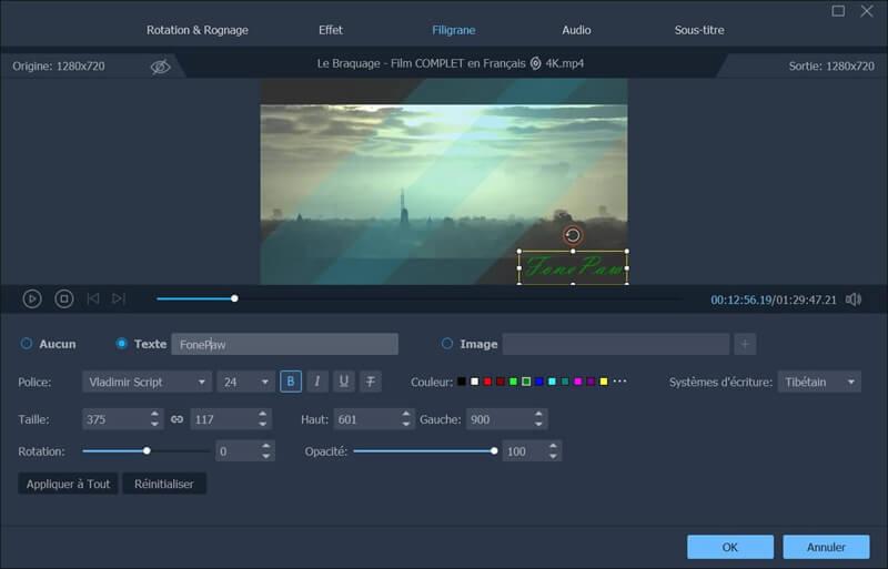 monter video fonepaw convertisseur video