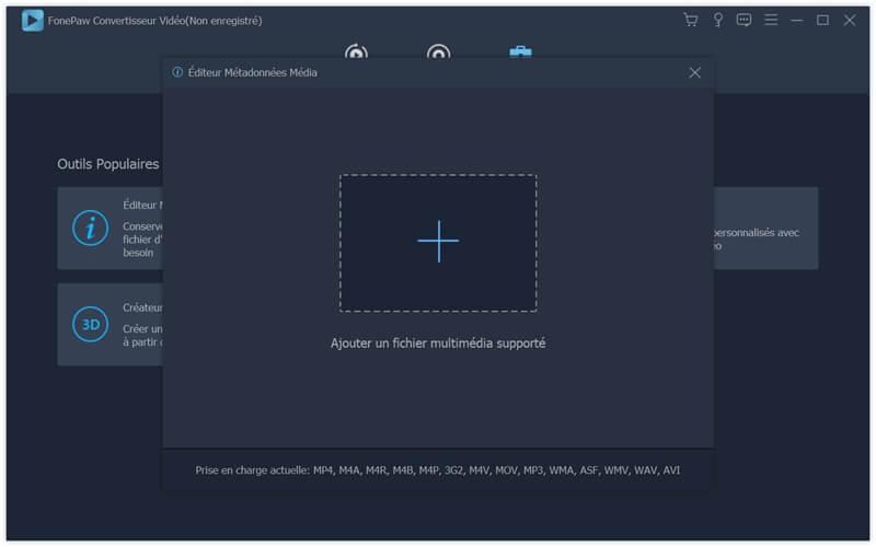 Sélectionner le fichier MP3 à éditer