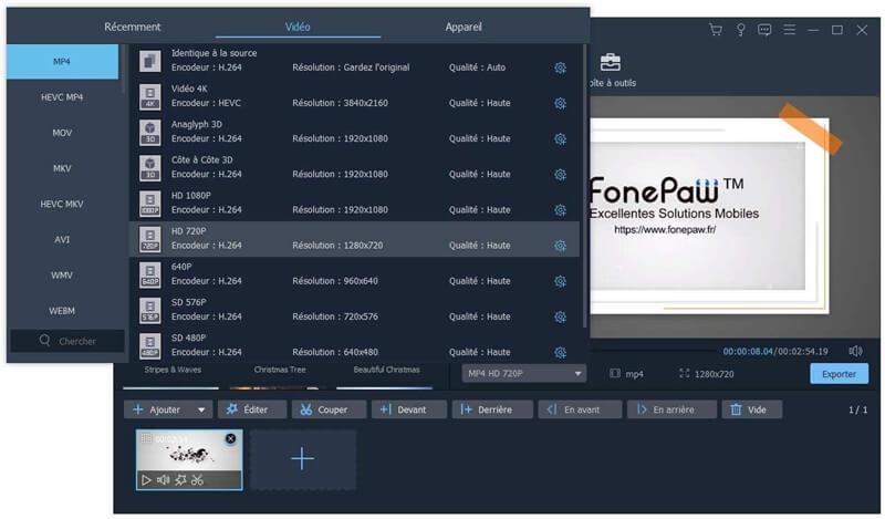 FonePaw Convertisseur Vidéo