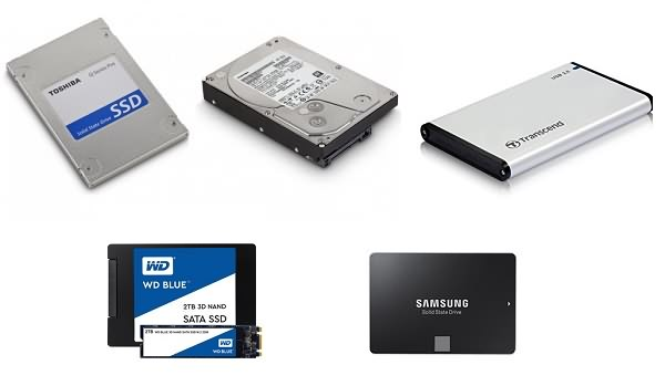 Les disques SSD