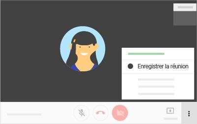 Enregistrer des réunions vidéo sur Google Hangouts