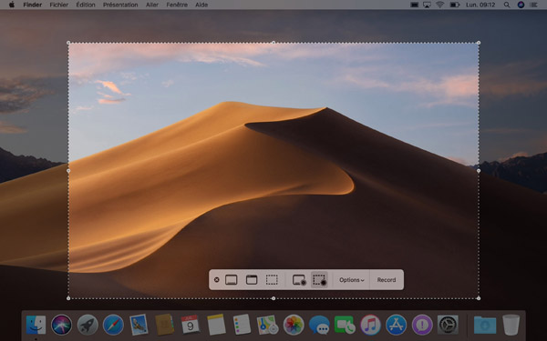 Enregistrer l'écran de votre Mac