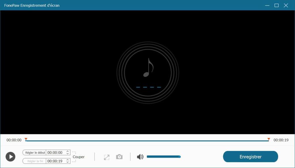 faire un bon enregistrement audio avec FonePaw Enregistreur d'écran