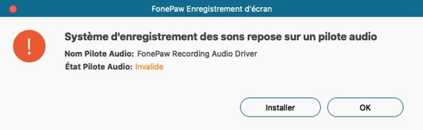 installer Pilote Audio sur Mac