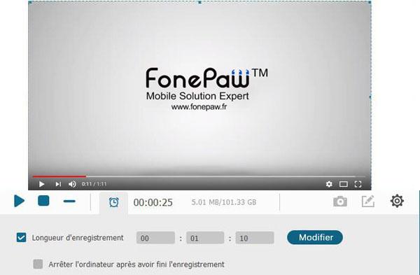 FonePaw Enregistreur d'écran