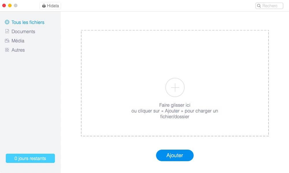 masquer les photos privées sur Mac