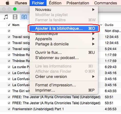 Commencer avec iTunes sur Mac