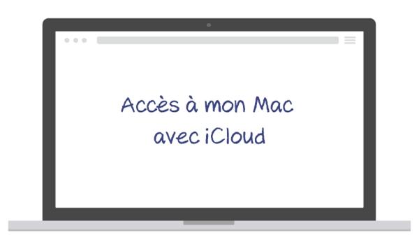 acces a mon mac icloud