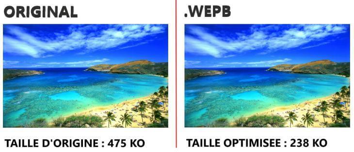 le format WebP