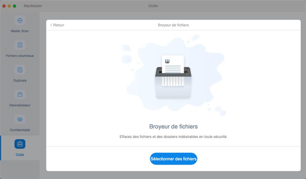 supprimer en toute sécurité des fichiers sur mac