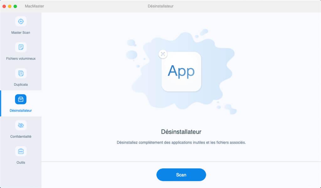Désinstallateur sur Mac