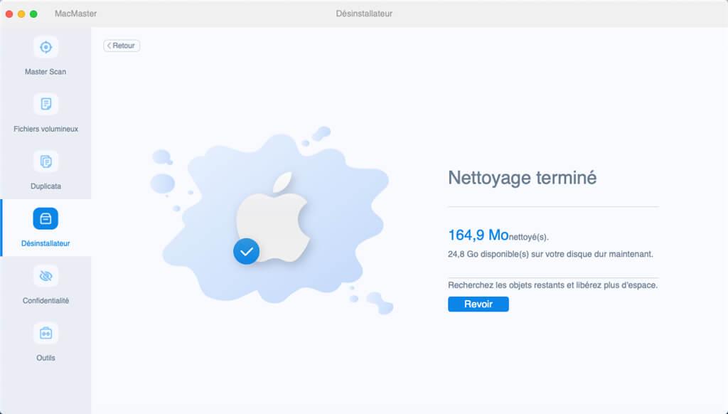 Désinstaller des applications sur Mac