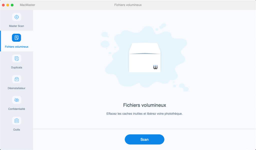 Nettoyer les fichiers volumineux sur Mac