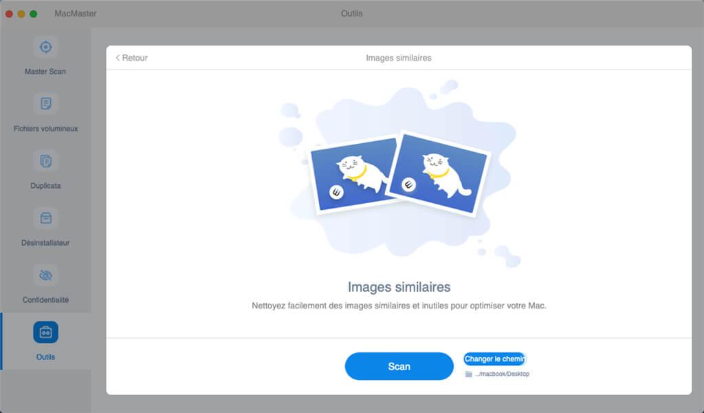 images similairs sur votre Mac