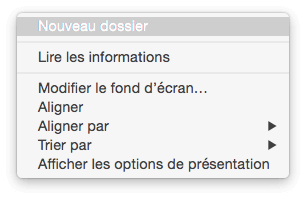 Format des fichiers sur mac