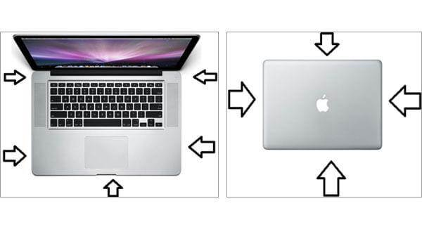 Nettoyer l'apparence de MacBook