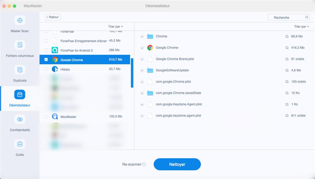 effacer les données de vos navigateurs Internet sur mac