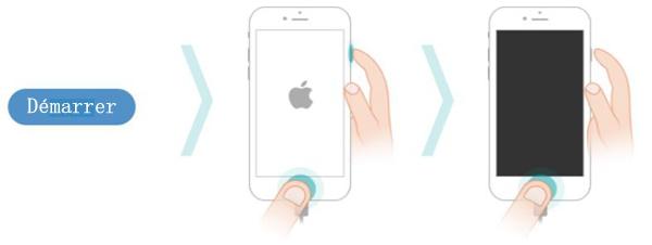 Entrer en Mode DFU pour iPhone 6 et iPhone 6s