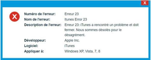 FonePaw - Restauration De Système iOS répare l'erreur 23de l'iTunes