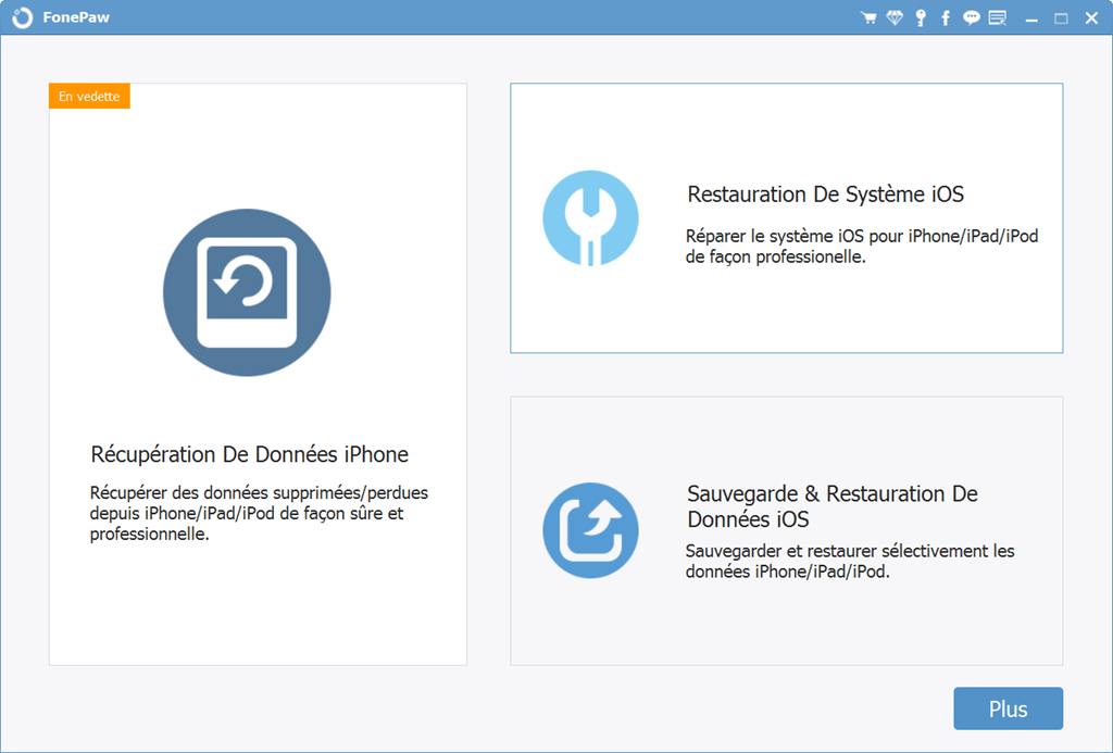 restauration system ios