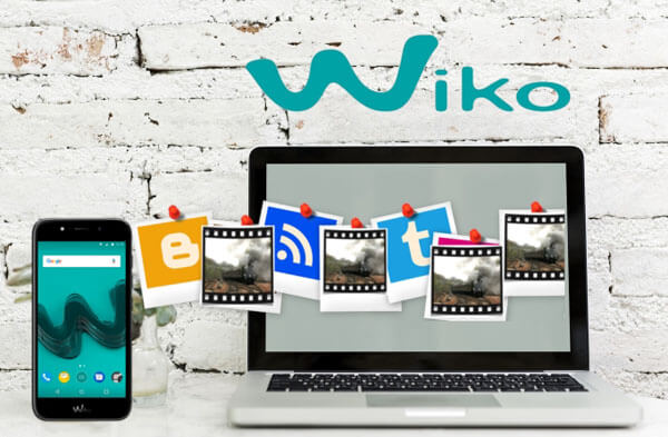 Transférer des photos de Wiko