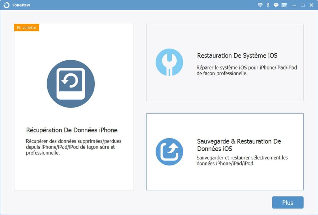 FonePaw pour iOS