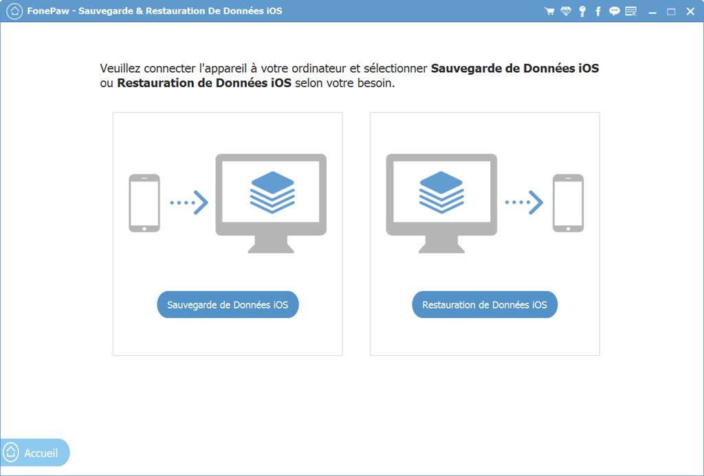Sauvegarde et Restauration de Donnée iOS