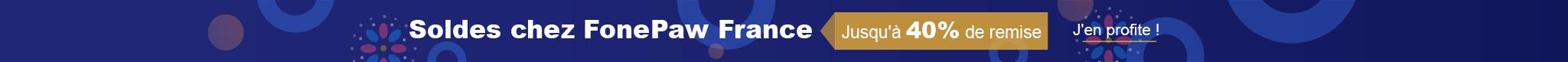FonePaw Promotion en 2019