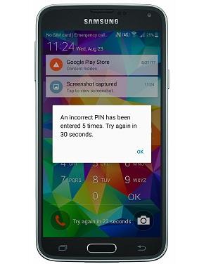 Android verrouillé