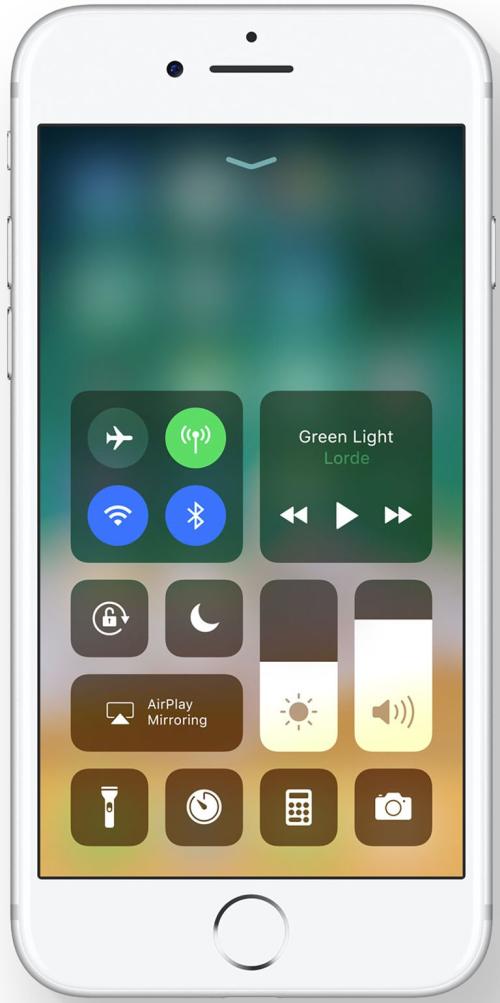 centre de contrôle iOS 11