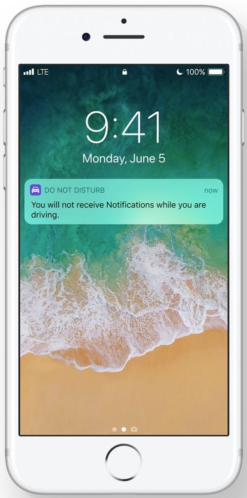 iOS 11 ne pas déranger conduite