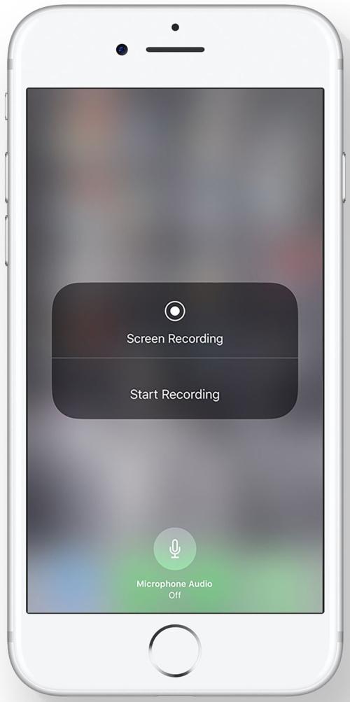 iOS 11 enregistrement d'écran
