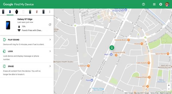google-carte-trouver-appareil