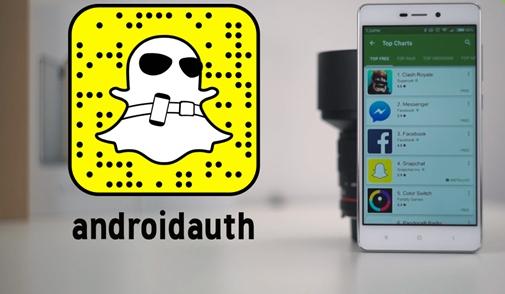 Snapchat Androidauth
