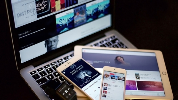 bibliotheque musicale icloud