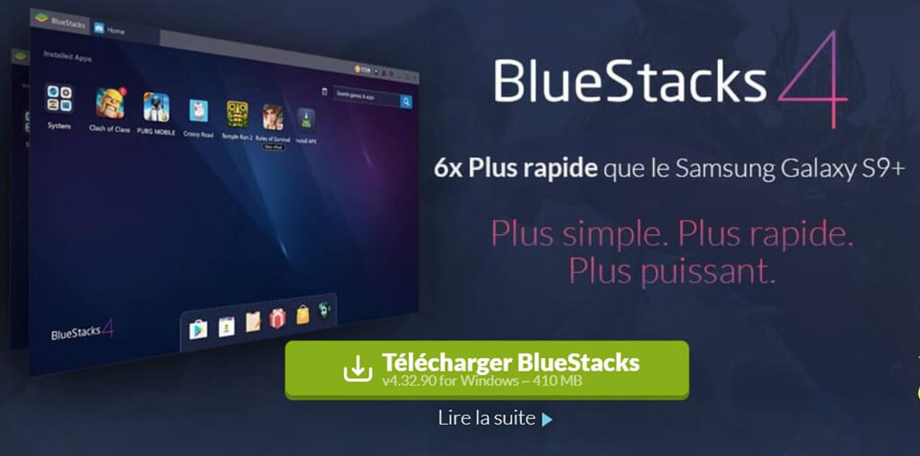 le programme Bluestacks