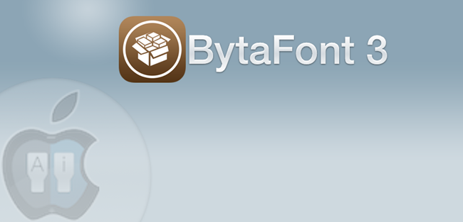 BytaFont 3 - changer la police d'écriture sur le fond d'écran iPhone