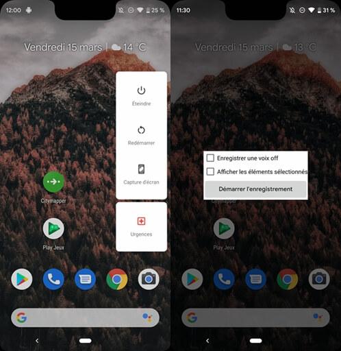 enregistrer son écran en vidéo sur Android