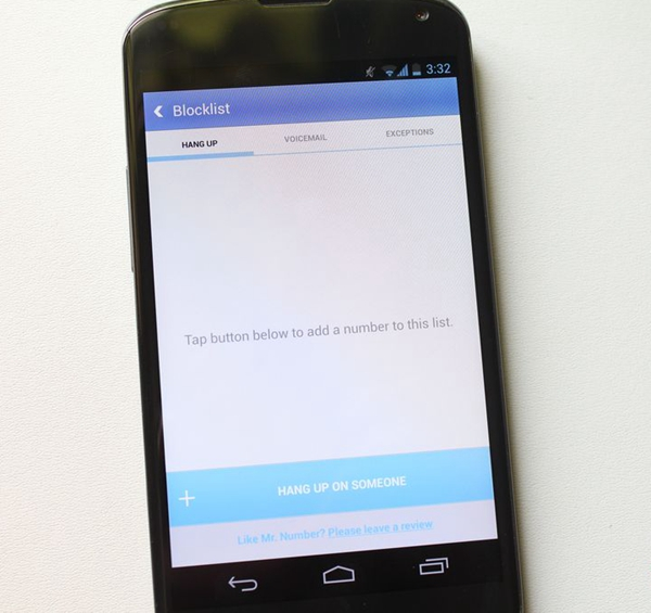 bloquer un numéro indésirable sur Android