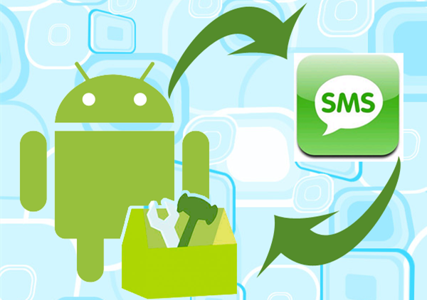 comment restaure sms android