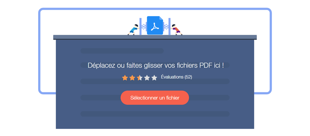 Compresser PDF en ligne et gratuit