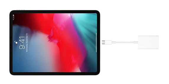 connecter une clé USB à un iPad