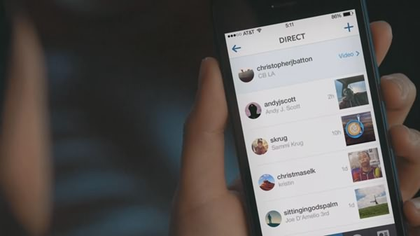 contents can sent instagram direct