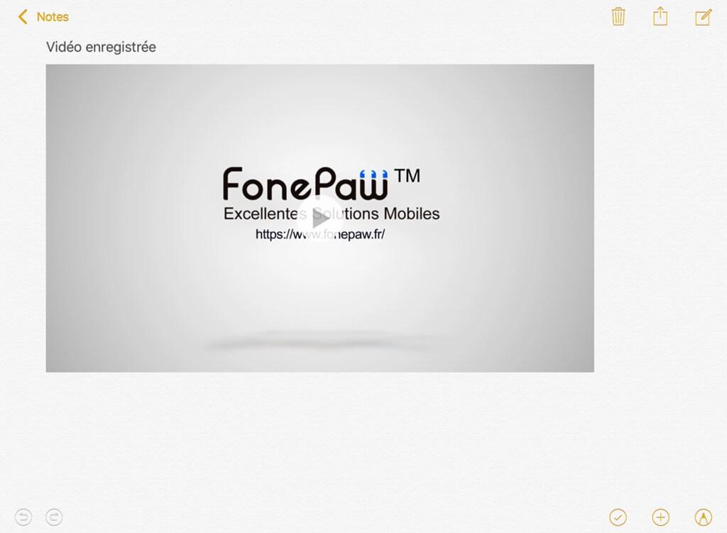 Enregistrer la vidéo sur iPhone et iPad